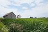 Ferme avec ses vieux bâtiments à Rimouski secteur Mont-Lebel. (Gaetan L) Tags: baslaurent gaspésie rimouski nikond7000 route132 provincedequébec fleuvestlaurent campagne campaign ferme farm paysage landscape agriculture