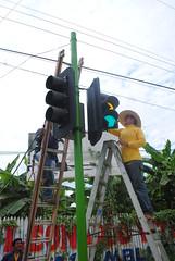 Colocación de semáforo (gadchone20092014) Tags: colocación semáforo
