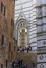 Steps up to the Piazza of the Archdiocise (dcnelson1898) Tags: siena tuscany italy town walls ancient tourist vacation travel