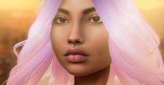 L.A. Colors. (Chrystal West) Tags: photoshop portrait secondlife art woman girl los angeles la virtual sl