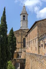 Church and Walls of Pienza (dcnelson1898) Tags: montepulciano tuscany italy town wine travel vacation countryside pienza church cattedraledisantamariaassunta catholic