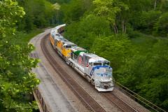 UP EMD SD70AH #1943 @ Tyrone, PA (Darryl Rule's Photography) Tags: 1943 2018 amtrak clouds cloudy diesel diesels emd freight freightcar freighttrain freighttrains ge helpers may middledivision mixedfreight ns norfolksouthern ocs passenger passengertrain railroad railroads sd70ace spiritoftheunionpacific spring train trains up unionpacific westslope