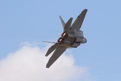 F-22 Raptor (Trent Bell) Tags: lancaster foxairfield airport losangelescounty airshow 2018 california aircraft f22 raptor demo afterburner