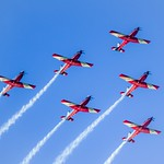 The Show in the Sky - 1 - The RAAF Roulettes - Parkes ACT - Australia - 20180317 @ 17:16 thumbnail