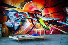 """Graffiti Gallery """"Teufelsberg"""" (KPPG) Tags: graffiti gallery kunst art teufelsberg berlin germany deutschland ausstellung exhibition"""