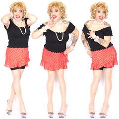 home17906-08 (Ann Drogyny) Tags: shoes legs heels crossdress crossdresser crossdressing cd tv tg ts transvestite transgender transsexual tranny tgirl glamour pinup mature cute sexy stockings nylons suspenders garters