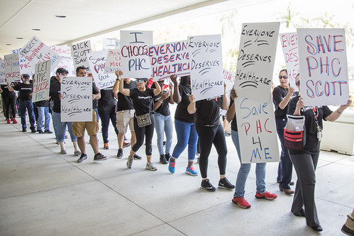 Fort Lauderdale Medicaid Cuts Protest