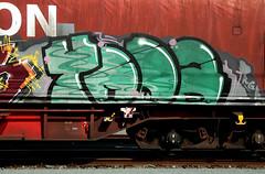 graffiti on freighttrains (wojofoto) Tags: amsterdam nederland netherland holland graffiti streetart cargotrain freighttraingraffiti freighttrain fr8 vrachttrein wojofoto wolfgangjosten