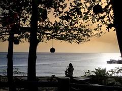 saxophonist (majka44) Tags: people travel sunset evening blue artist light boat nice atmosphere scene holiday