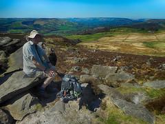 20180419 Wlk frm Fox Hse_0037 Paul~Over Owler Tor~Carols photo (paul_slp5252) Tags: darkpeak peakdistrictnationalpark higgertor overowlertor walking hiking