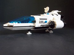 Orion One solo explorer (SaurianSpacer) Tags: lego moc futuron classicspace spaceship neoclassicspace