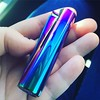 Have you ever seen a more Susan-colored lighter?!? I have nice friends who fuel my magpie ways. Thank you @sushithegreat 💜💙💚 . . . . #rainbow #iridescent #oilslick #lighter #mermaid #cyberpunk #vaporware lol #anodized # (ClevrCat) Tags: ifttt instagram have you ever seen more susancolored lighter i nice friends who fuel magpie ways thank sushithegreat 💜💙💚 rainbow iridescent oilslick mermaid cyberpunk vaporware lol anodized clipperlighter thankyou
