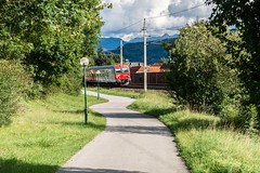 Convergence (Nodding Pig) Tags: goritschach railway train carinthia kärnten austria österreich cycle path 2017 öbb österreichischebundesbahnen 8073048 201709047751101