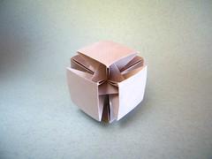 Pointless Cube - Ilan Garibi (Rui.Roda) Tags: origami papiroflexia papierfalten modular cubo pointless cube ilan garibi