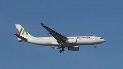 Wamos Air (ƒliçkrwåy) Tags: ecmny airbus a330 wamos air aircraft airliner airline aviation lgw egkk