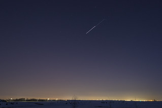 ISS and The Dragon