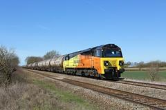 20180405 IMG_1963 70816 6E82 Muston (Bill Atkinson2) Tags: colas rail class 70 tanks 6e82 muston 70816