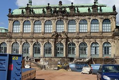 Baustelle im Zwinger (Thomas230660) Tags: sony dresden städte citys sightseeing