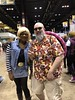 Android 18 Meets Master Roshi! (blueZhift) Tags: c2e2 cosplay anime manga comics games chicago costume videogames dbz masterroshi android18 crossplay