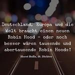 Deutschland, Europa und die Welt - Zitat Horst Bulla thumbnail