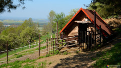 A donkey house (Szymon Simon Karkowski) Tags: outdoor house donkey hill mountains architecture landscape tree trees silesianmoravian beskydy štramberk czech republic nikon d7100