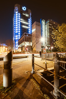 Union Tower at night
