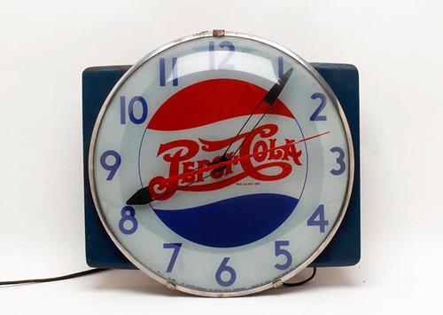 Pepsi-Cola Advertising Clock ($700.00)