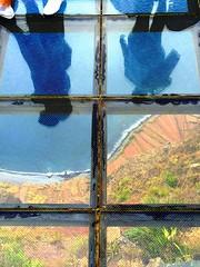 Madeira, Porugal. View from the Highest Skywalk - 580 meter - in Europe and the second highest in the world (dimaruss34) Tags: newyork brooklyn dmitriyfomenko image portugal madeira svetlanafomenko skywalk highestskywalkineurope miradourodocabogirao ocean shore reflections