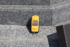 Chernobyl Radiation at Memorial 1.24 microSieverts (Ray Cunningham) Tags: radiation chernobyl ukraine disaster ussr soviet union