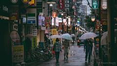 Japan Travels 003 (akashrouth1980) Tags: nightphotography osaka japan dotonburi nightlights canon70d osakastreets nightsky twilight osakacitylife japanfocus canon70dphotography ultrawide osakanightlife japandiaries urban street nightscape osakariver cityscape dslr japanstagram