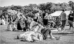 Whit Weekend , Barnard Castle , 2018 . (wayman2011) Tags: fujifilm1650f35f56 lightroomfujifilmxt10 wayman2011 bw mono rural people candid town markettowns pennines dales teesdale barnardcastle countydurham uk