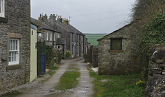 The village of Litton (Blue sky and countryside) Tags: litton limestone cottages coalhousedoor village hills remore peak district national park england pentax attractive springtime