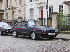Ford Capri 2.8 Injection Special C207HVW (Andrew 2.8i) Tags: queen queens square bristol breakfast club show meet car cars classic hatchback hot hatch sports sportscar coupe mark 3 mk mk3 special injection 28 capri ford v6 cologne