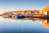 A Moment of Stillness (Rich Walker75) Tags: plymouth devon reflection reflections boats harbour boat blue gold sunrise dawn morning landscape landscapephotography landscapes canon eos eos80d efs1585mmisusm england greatbritain