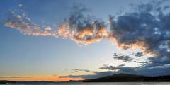 2018-05-29 Sunset (2048x1024) (-jon) Tags: anacortes skagitcounty skagit washingtonstate washington salishsea fidalgoisland sanjuanislands pugetsound guemeschannel curtiswharf pnw pacificnorthwest northwest pacific waterfront sky sunset cloud clouds composite stitched a266122photographyproduction