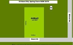 19 Hurst St, Spring Farm NSW