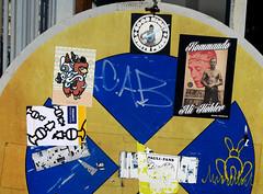 stickers in Hamburg (wojofoto) Tags: stickers stickerart sticker hamburg germany deutschland streetart wojofoto wolfgangjosten wojo