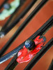 Fence Flamenco (Katrina Wright) Tags: dsc68714 fence decoration metal hff fencedfriday flamenco red vibrant dof
