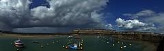 Un Grain sur Saint-Malo   . . . (Daniel.35690) Tags: saintmalo bretagne 2018 grain orage nuages bateaux panorama panoramique