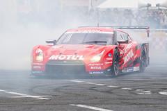 Demonstration driving of Motul Autech GT-R GT500 (junjunohaoha) Tags: nissan nismo gtr supergt racecar gt500 odaiba japan msj tokyo motorsportjapanfestival2018 nikon d610