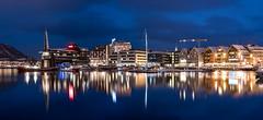 Tromsø port (Einar Angelsen) Tags: tromso tromsø norge norway city lights winter panorama