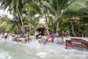 Beach bar being flooded (Gerd Kohlmus) Tags: bar beach flooded hightide kohphangan thailand thongnaipanyai