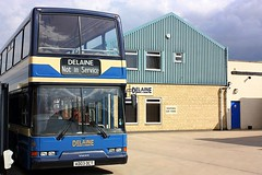 At the Entrance (Chris Baines) Tags: delaine bus depot bourne lincolnshire volvo b7tl east lancs ad03 oct