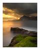 Badouzi Coast II (jos.pannekoek) Tags: taiwan northtaiwan northcoast coast seascape longexposure le d500 nikkor1755f28 1755 sunrise zonsopkomst algae moody dramatic rocks stone