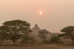 Myanmar-20180324-1369 (ShaneAndRobbie) Tags: mandalayregion myanmarburma mm myanmar burma bagan pagoda temple baganarchaeologicalzone baz sulmani sunset