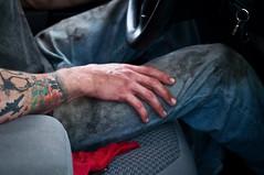 Dirty jeans (adorn2013) Tags: jeans fetish pants denim dirty bluejeans