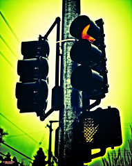 No More Tequila (MBates Foto) Tags: availablelight color existinglight experimental light metal nikkorlens nikon nikond810 nikonfx outdoors pole red streetlight trafficlight urban spokane washington unitedstates 99203