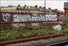 Dnoe, Deams, Pies... (Alex Ellison) Tags: southlondon trackside railway urban graffiti graff boobs deams ps ghz pies dds