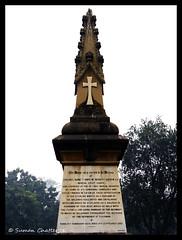 Memorial #2, Residency, Lucknow (Suman Chatterjee) Tags: lucknow oudh awadh baraimambara hussainabad nawab rumidarwaza gomtiriver chotaimambara machchibhawan saadatkhan shujauddaula asafuddaula saadatalikhan wajidalishah residency sumanchatterjee