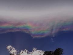 Cloud rainbow in the desert (piranhabros) Tags: palmsprings desert rainbow clouds sky